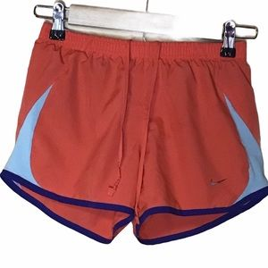 NIKE SHORTS DRI-FIT RUNNING SHORTS WITH BRIEFS